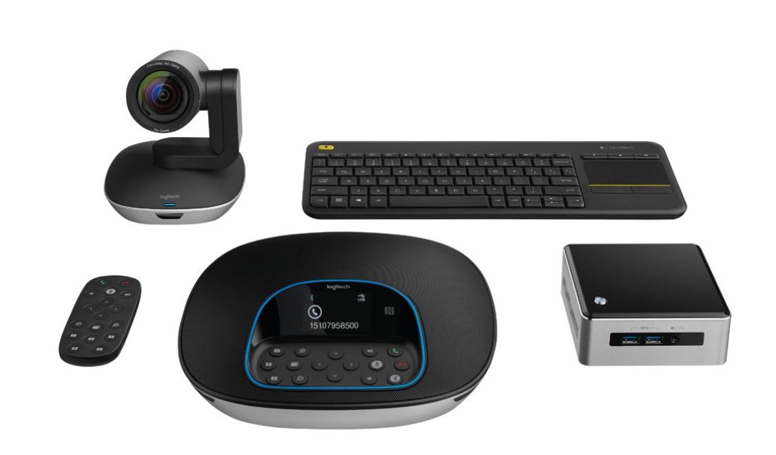 jual harga logitech video conferencing system