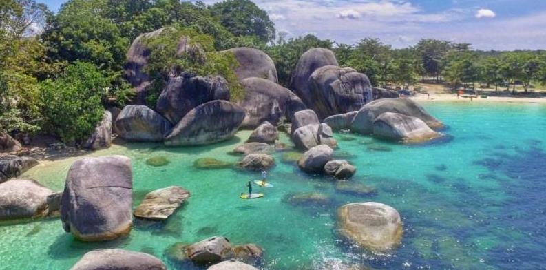 destinasi wisata kepulauan Belitung